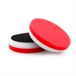 "FLEX 80mm (3"") Red Soft Polishing Pad (2 Pack)"