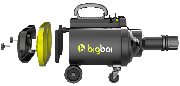BigBoi BlowR Mini - Touchless Car Dryer