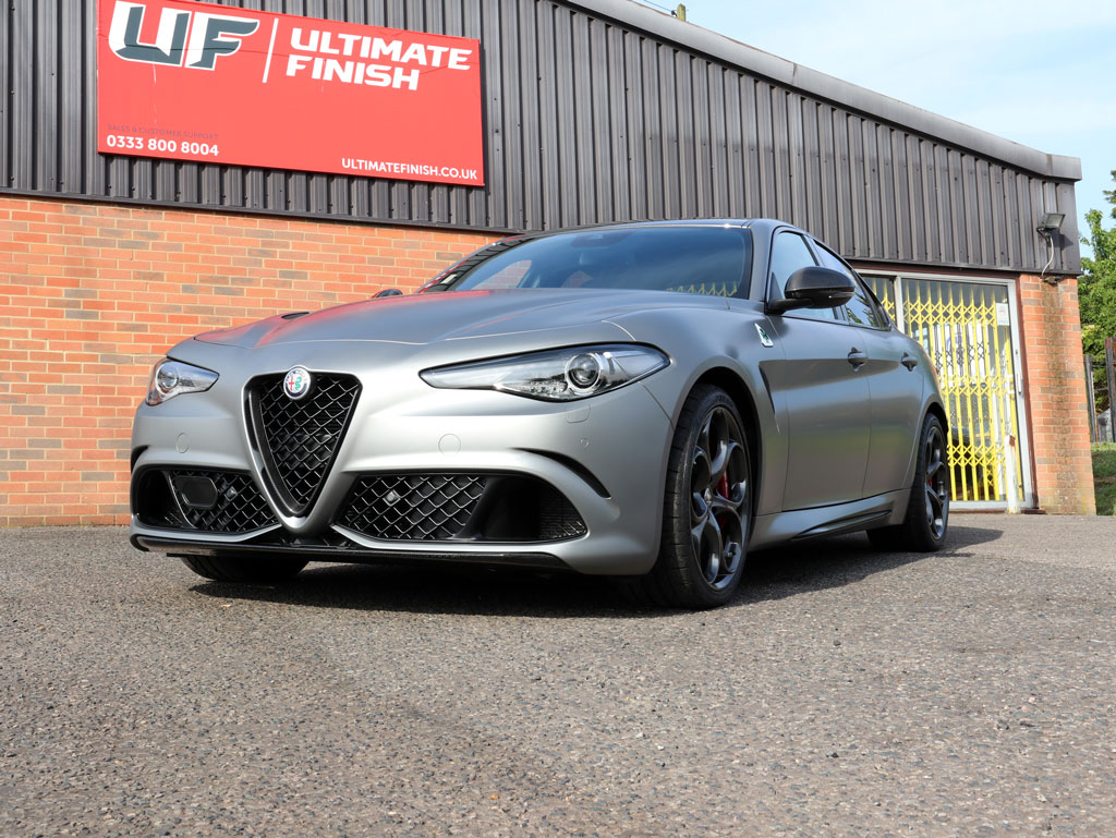 Alfa Romeo Giulia Quadrifoglio NRING Edition – New Car Protection