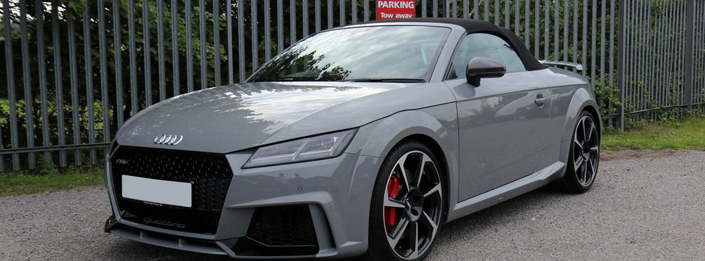 Audi TT RS Roadster - 1-Stage Gloss Enhancement