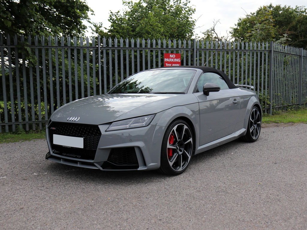 Audi TT RS Roadster – 1-Stage Gloss Enhancement