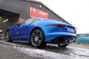 Supercharged Jaguar F-Type R-Dynamic - 2-Stage Gloss Enhancement