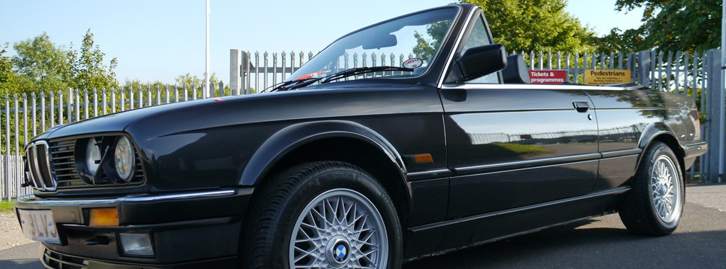 BMW E30 325i Cabriolet - Swissvax Gloss Enhancement