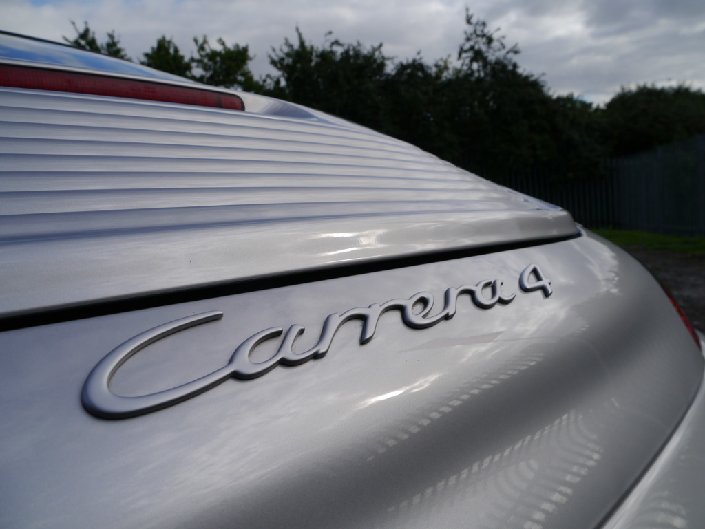 Porsche 911 (996) Carrera 4  – Gloss Enhancement Treatment