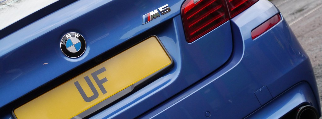 BMW M5 with Akrapovic Exhaust System - New Car Protection