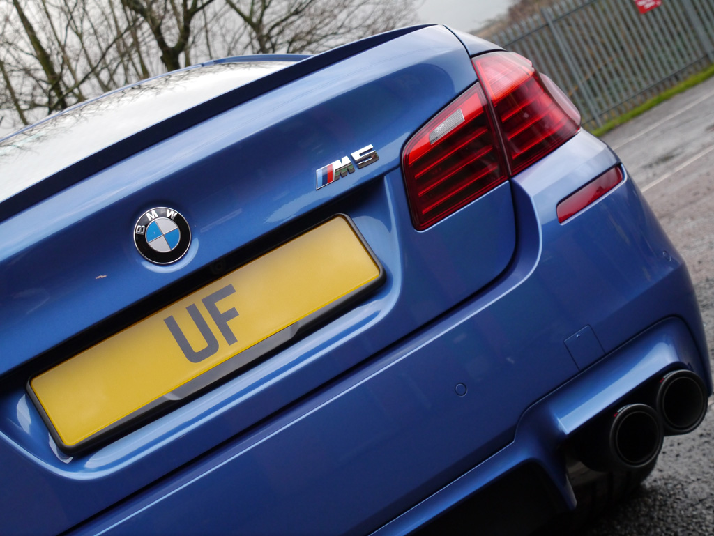 BMW M5 with Akrapovic Exhaust System – New Car Protection