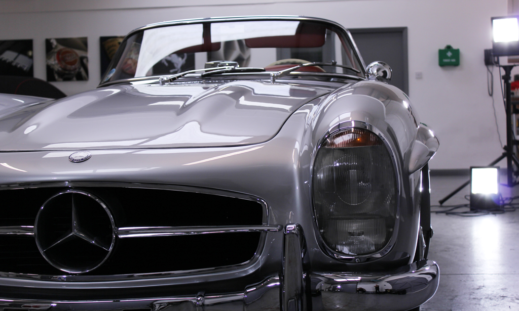 Iconic 300 SL Roadster Given The Swissvax Star Treatment
