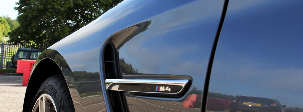 BMW M4 Dynamically Protected with GYEON Q2 Mohs+