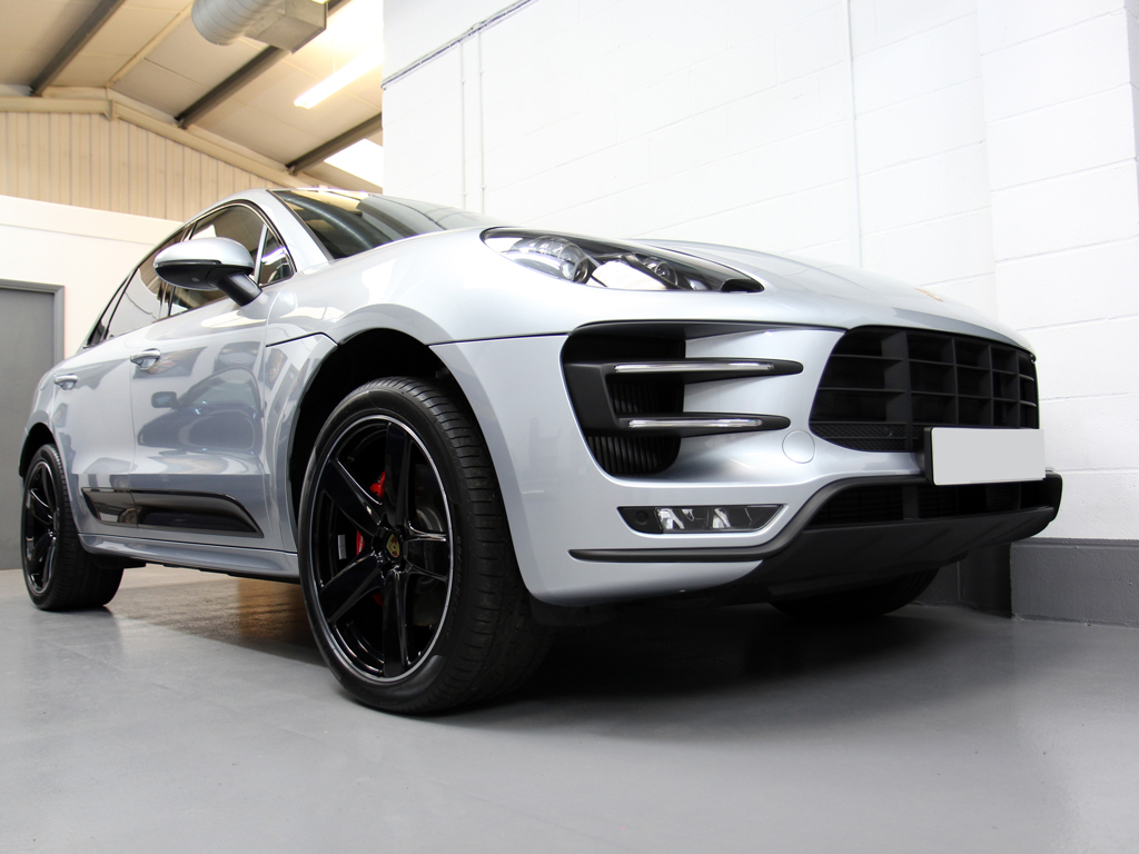 Porsche Macan Turbo – Quartz-Based New Car Protection Package