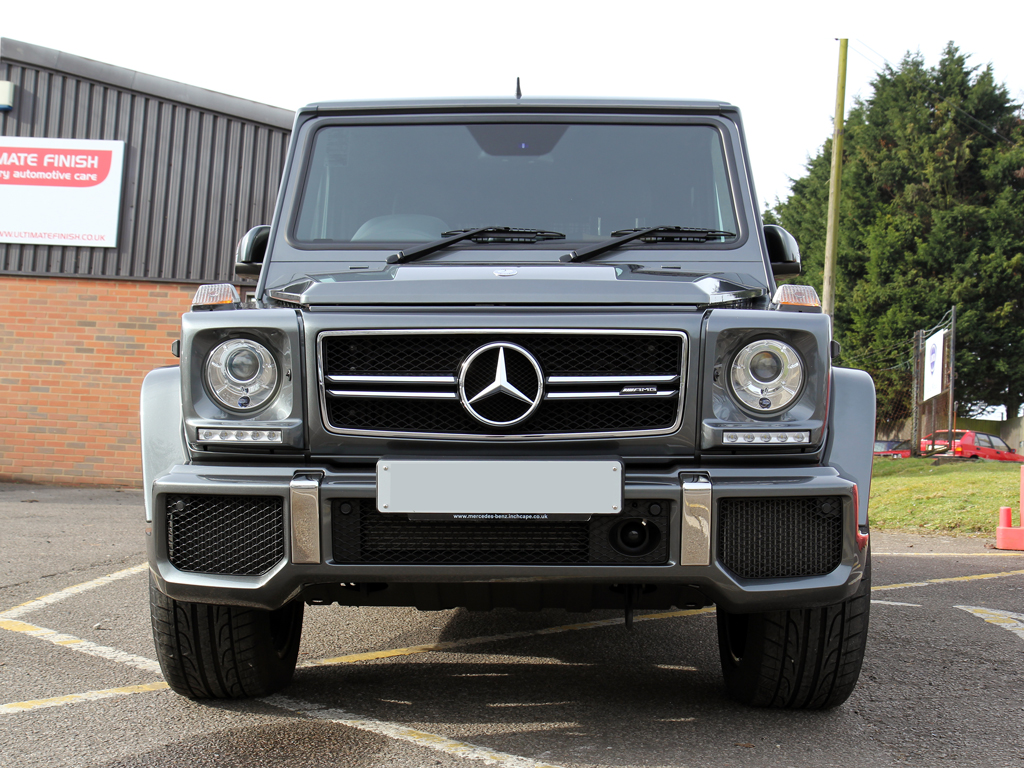 Mercedes-AMG G63, Developed At Schöckl Mountain, Protected at Brands Hatch