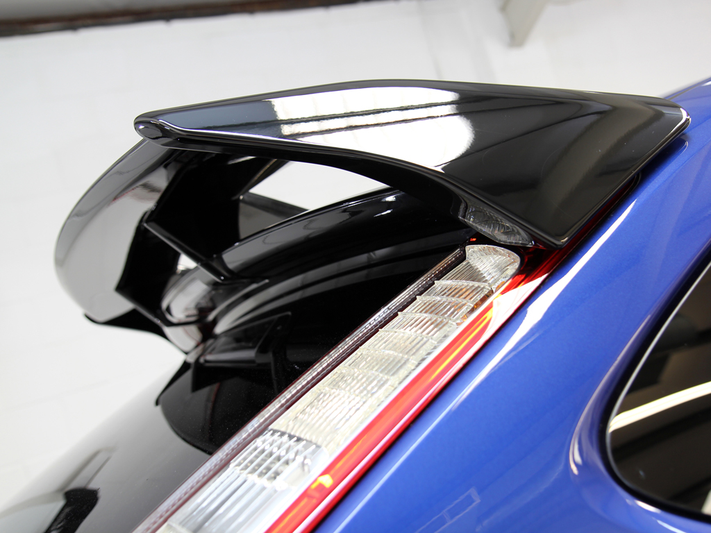 Performance Blue Paintwork Restored On A Mk2 Ford Focus RS