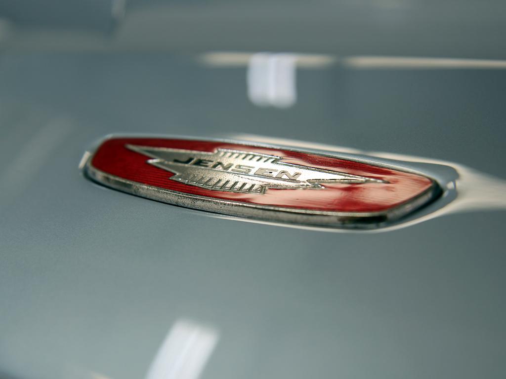 Jensen Interceptor Mk 1 Made Ready For Chantilly Arts & Elegance Show