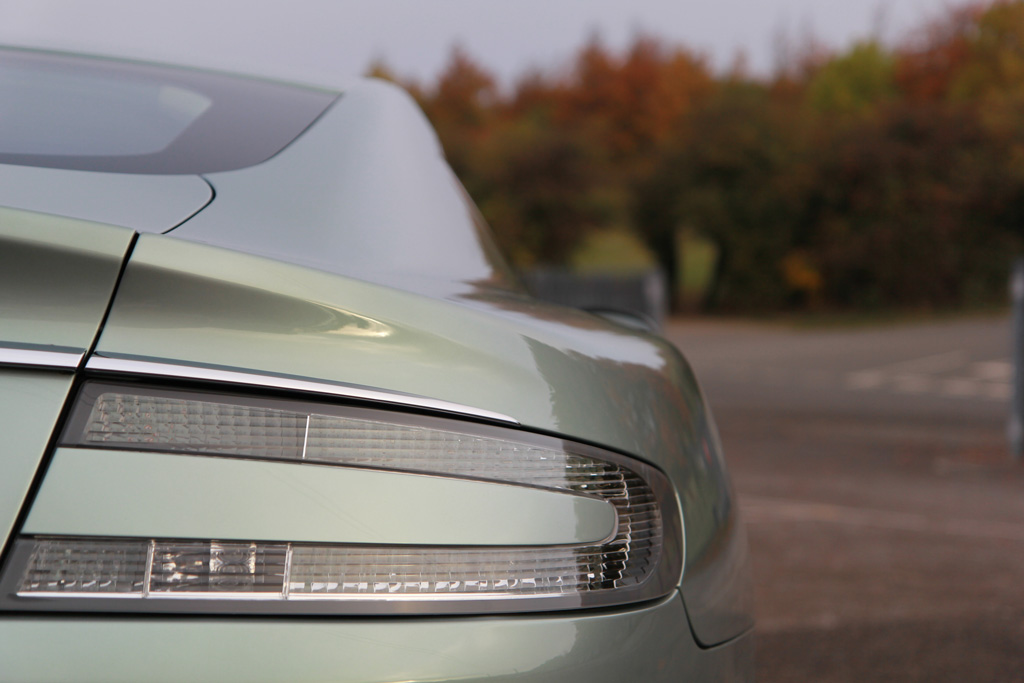 Accentuating The Elegant Lines Of A 'Hardly Green' Aston Martin Rapide