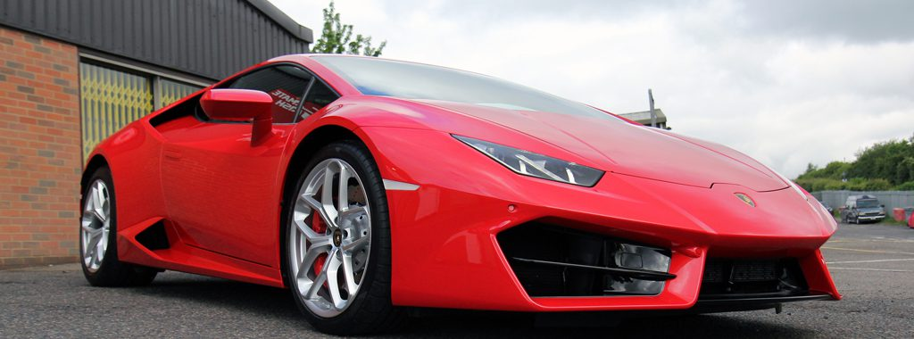 Lamborghini Huracan Causes A Storm At UF