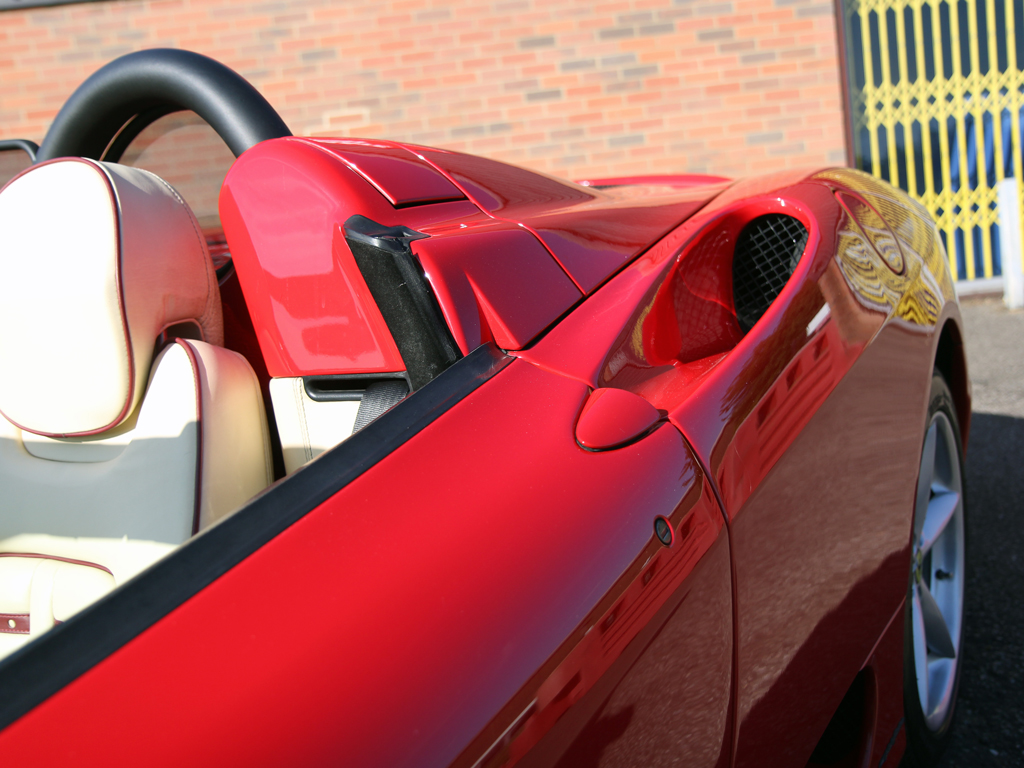 Ferrari 360 Spider – Pre-Sale Vehicle Preparation And Protection