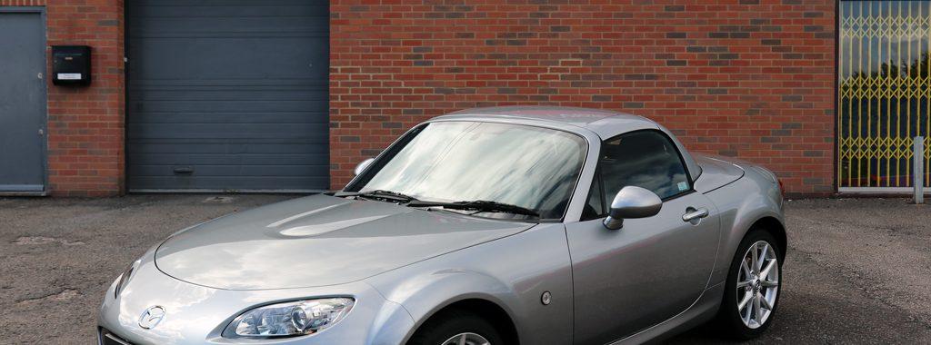 Mazda MX-5 Sport Tech Roadster Cosmetically Restored