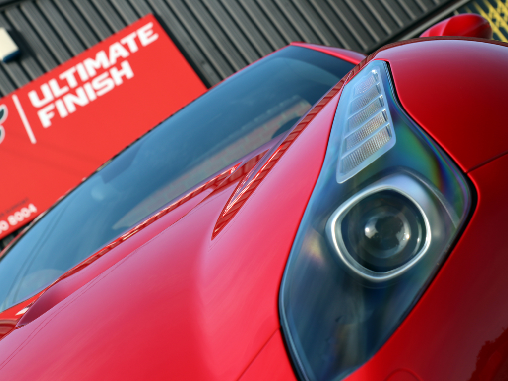 Ferrari California T 'Handling Speciale' – Paint Correction And Protection