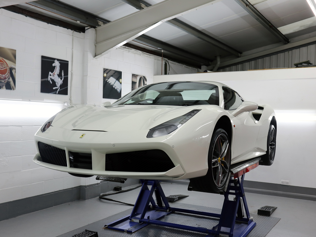 Ferrari 488 Spider – The Ultimate New Car Protection Package
