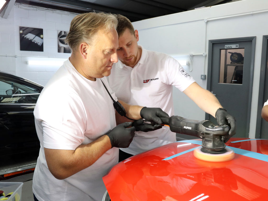 Machine Polishing Advanced Training Course – A Tale Of Two Daves