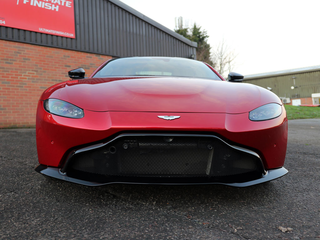 Ex-Demo 2018 Aston Martin Vantage Made 'Show Room' Again
