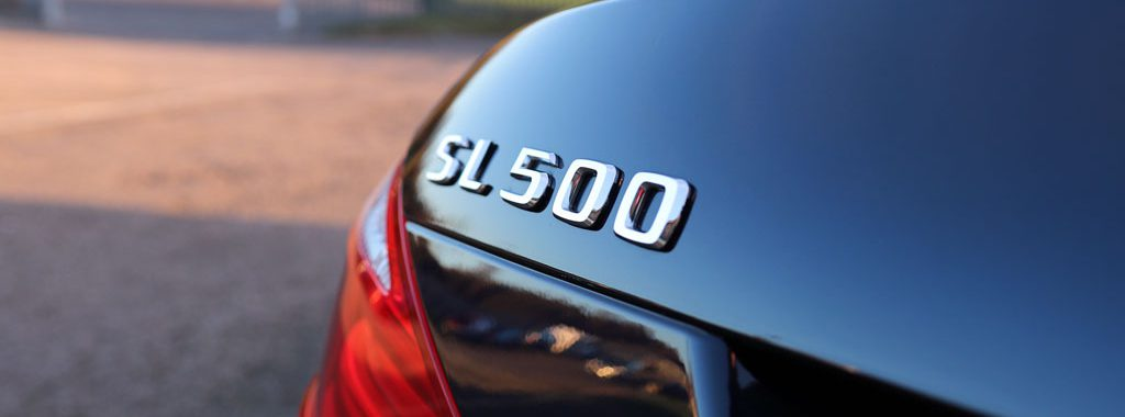 Mercedes-Benz SL 500 - A Remarkable Visual Transformation