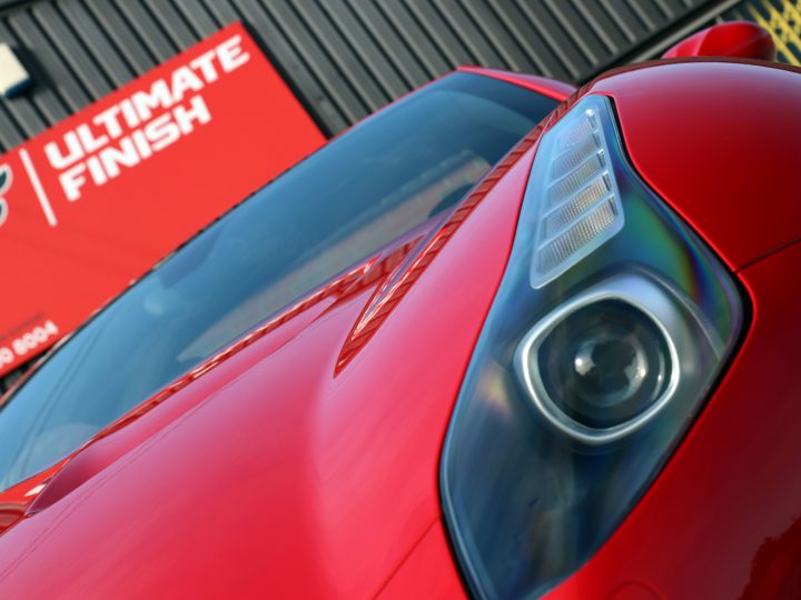 McLaren MP4-12C receives a 'New Car Protection Detail'