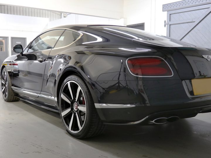 Bentley Continental GT V8 Twin-Turbo: Paint Correction