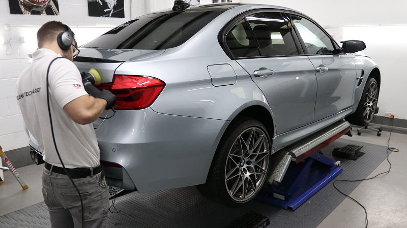 BMW M3 Machine Polishing