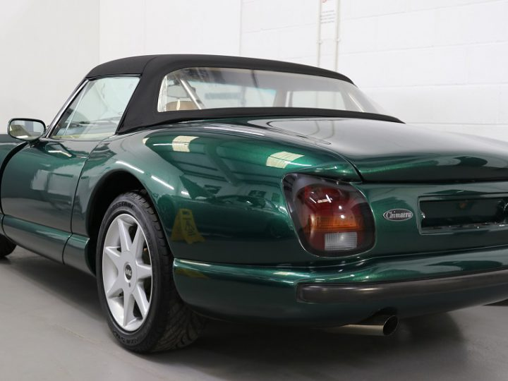 TVR Chimaera brought back to life by Ultimate Finish