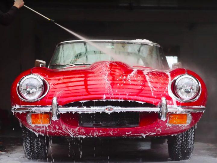Jaguar E-Type Paint Preparation & Correction with Joe Huntley – Part 1