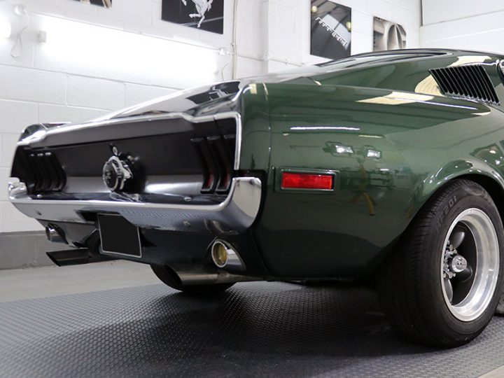 Ford Mustang Bullitt Fastback: 2-Stage Gloss Enhancement Treatment