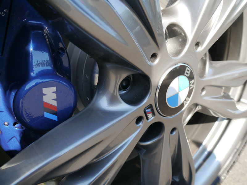Gtechniq C5 Alloy Wheel Armour protects wheels from brake dust build-up