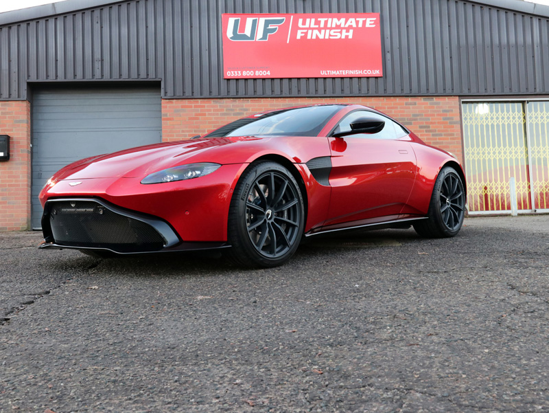 2018 Aston Martin Vantage - 2-Stage Gloss Enhancement Treatment