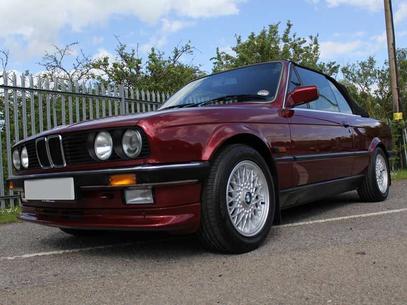 BMW E30 325i Cabriolet, Gloss Enhancement 'Plus' - Part Two
