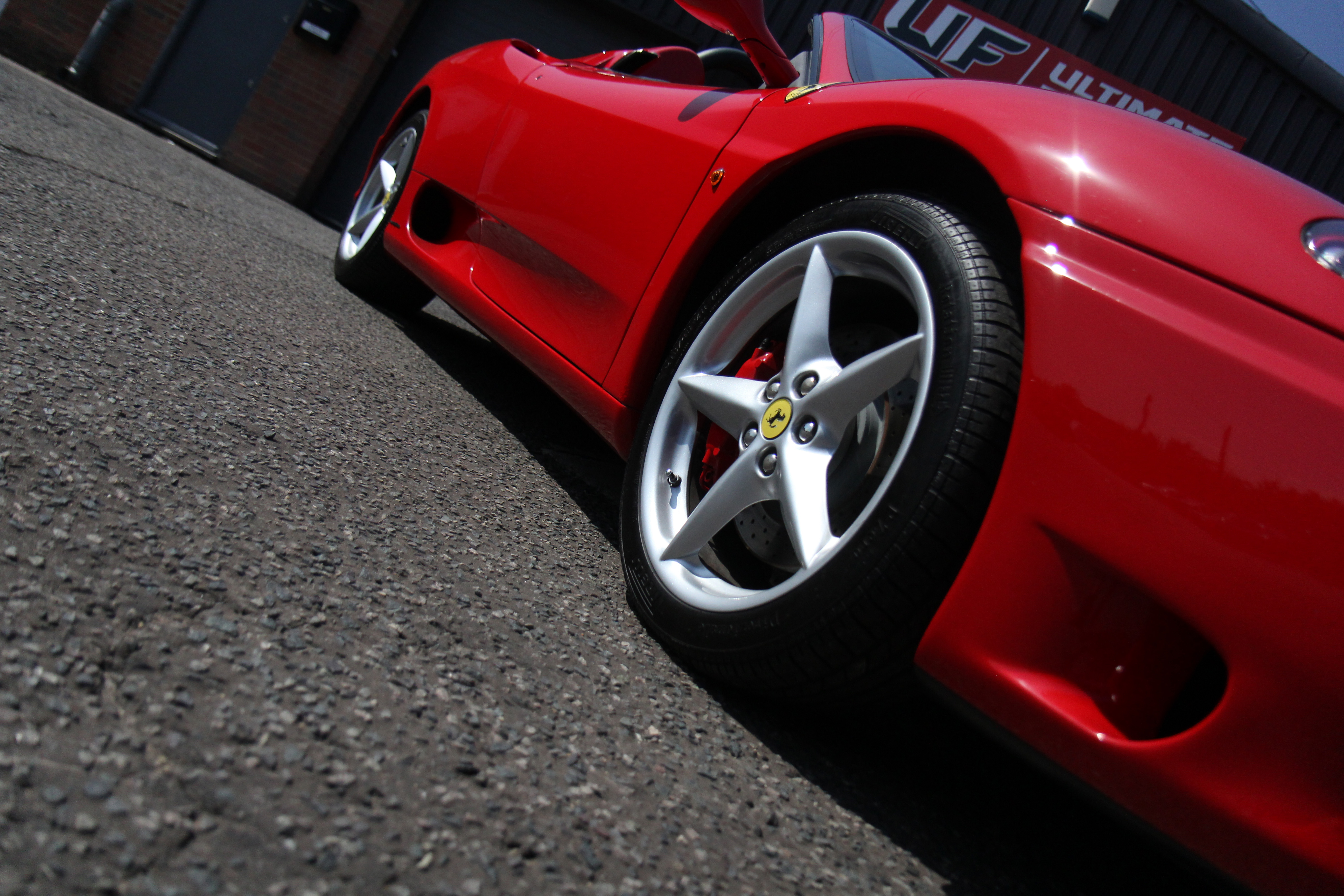 Ferrari 360 Spider - Pre-Sale Preparation Treatment