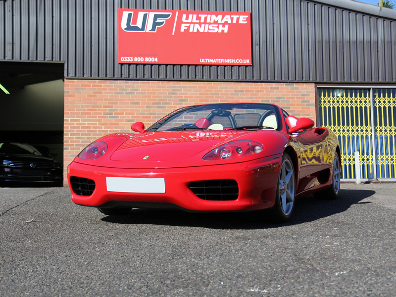 Ferrari 360 Spider - Pre-Sale Preparation Treatment