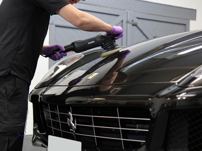 Ferrari 599 Receives GEN-3 GLASSCOAT Protection
