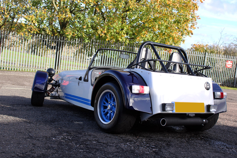 Caterham SEVEN 620R Flies In For New Car Protection Treatment