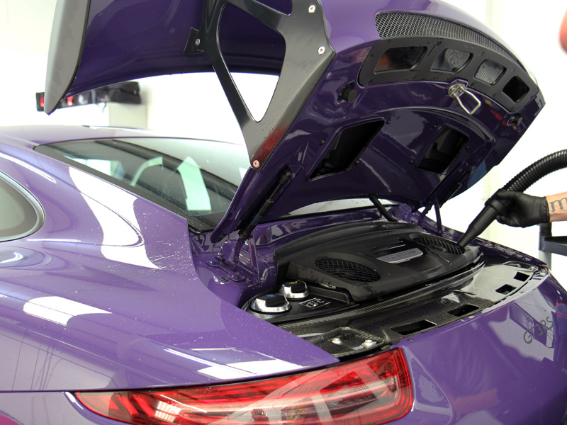 Porsche 911 991 GT3 RS - New Car Protection Treatment