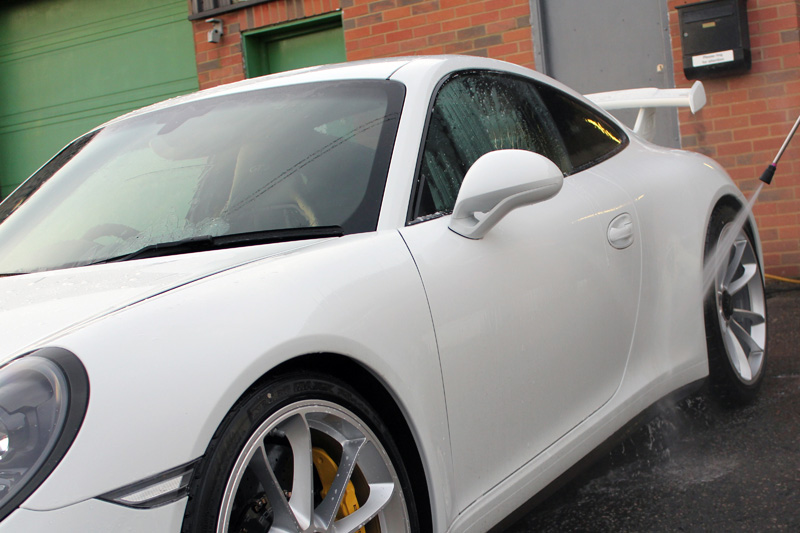 King Of Clubsport - Porsche 911 991 GT3 Receives Full Protection