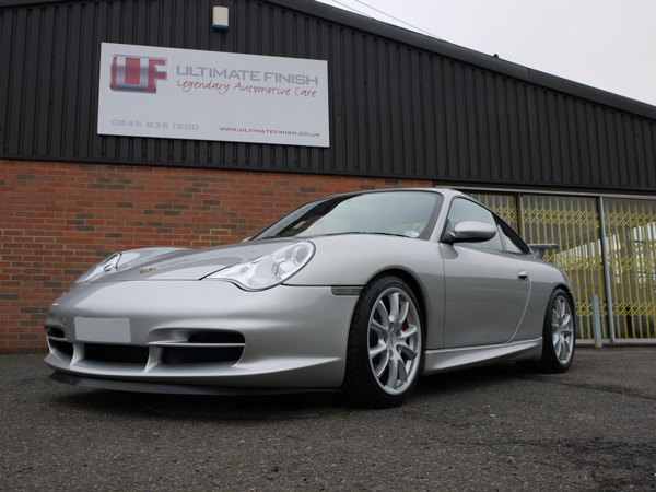 Ultimate Detailing Studio - Porsche 911 996 GT3 22PLE Glass Protection Treatment