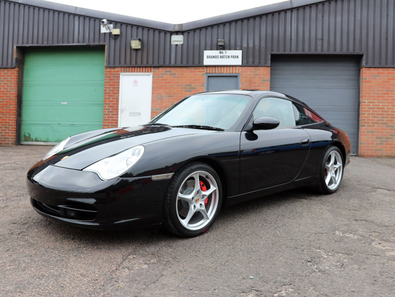 Porsche 911 996 Targa - Gloss Enhancement Treatment