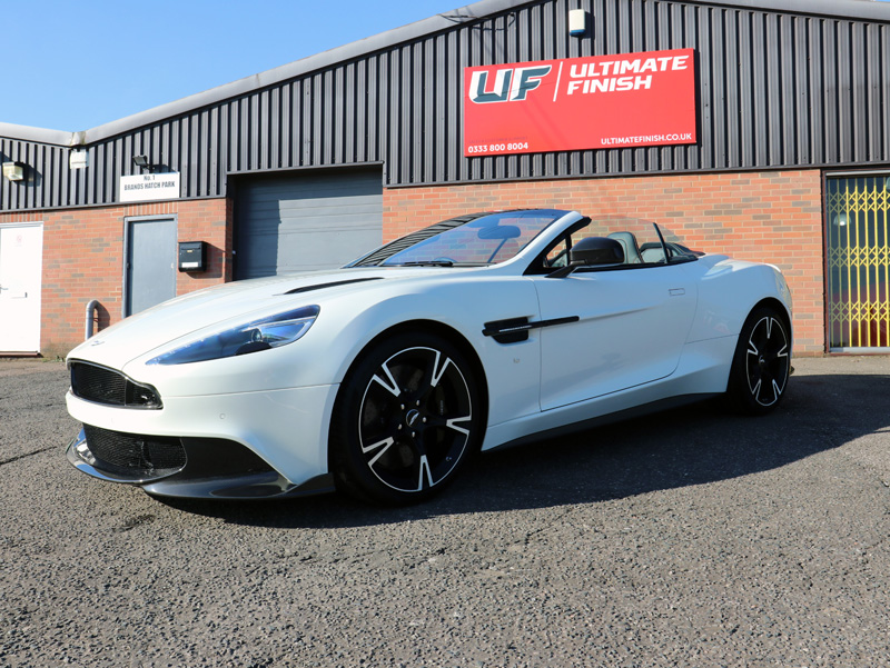 2018 Aston Martin Vanquish S Ultimate - New Car Protection Package