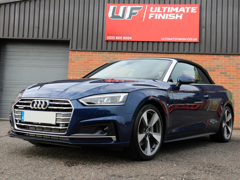 2017 Audi A5 TDi Cabriolet - New Car Protection Treatment