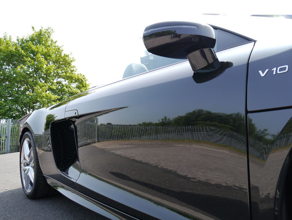 New Car Protection Treatment - Audi R8 V10 5.2 FSI quattro polished with SCHOLL Concepts S40