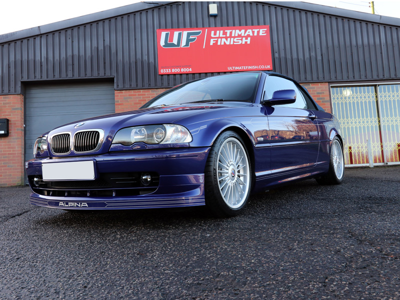 BMW Alpina B3 3.3 Convertible - 2-Stage Gloss Enhancement Treatment