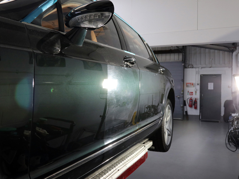 2005 Bentley Flying Spur - Paint Correction Treatment