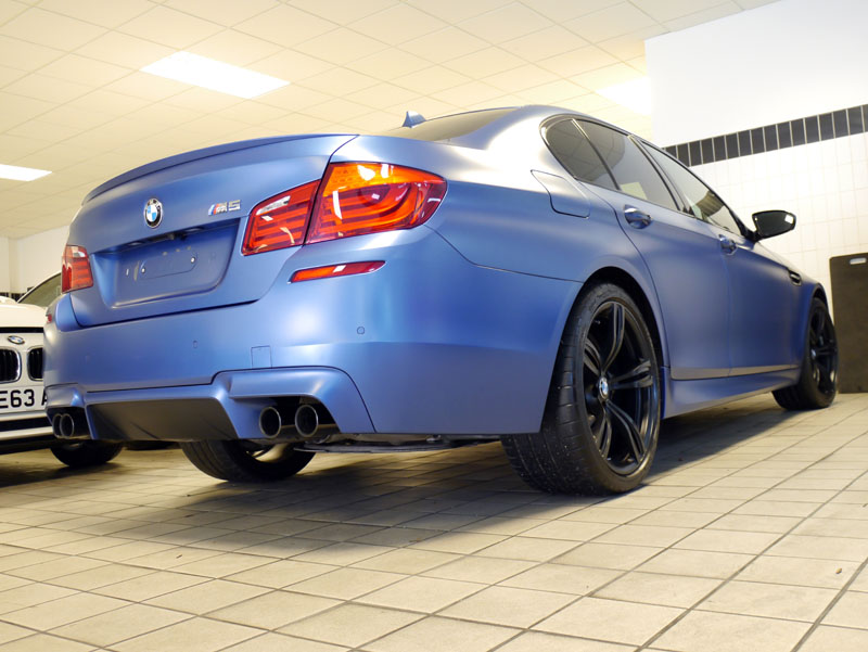 BMW F10 M5 Performance Pack - Frozen Blue