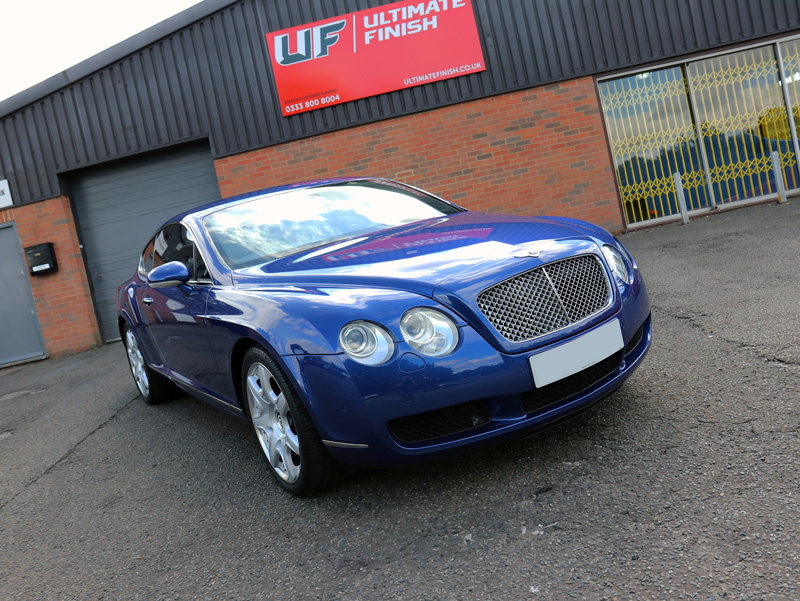 Bentley Continental GT - Gloss Enhancement Treatment