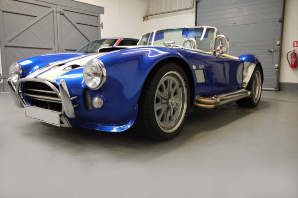 AK 427 AC Cobra protected with Gtechniq EXO at Ultimate Detailing Studio